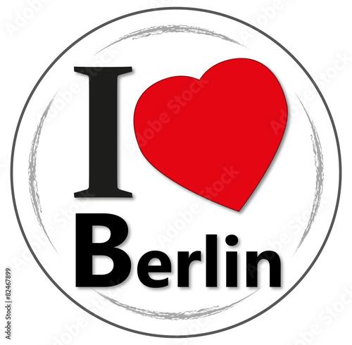 Plagát, Obraz I love Berlin