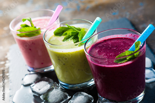 Foto op Aluminium Cocktail smoothie