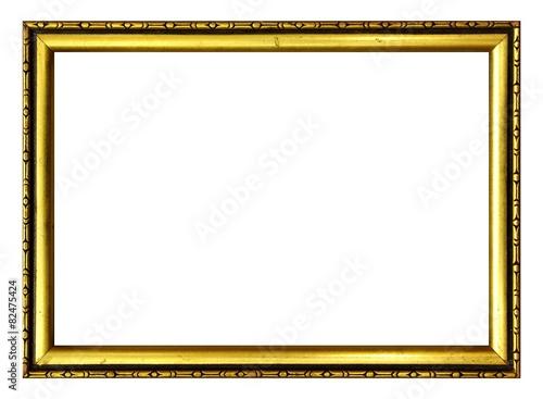 Leinwanddruck Bild Goldrahmen Art Deco