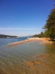 Lake Woerth View From Beach Poertschach
