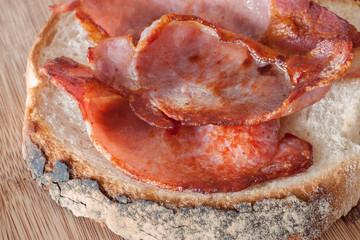 Freshly Made Bacon Sandwich