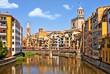 Historical jewish quarter in Girona. Spain, Catalonia. - 82480091