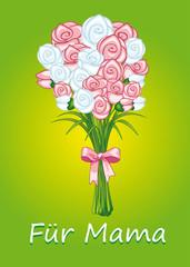Rosenstrauß für Mama
