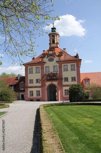 Leinwanddruck Bild Schloss Altshausen