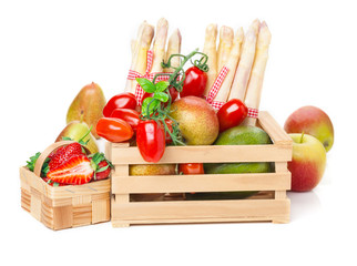 Obstkorb, Gemüsekiste