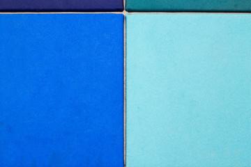 Filz blau tuerkis