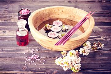 Spa aromatherapy set