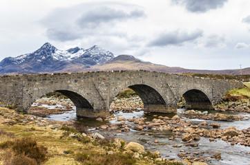 Old Stone Bridge, Isle of Skye, Scotland