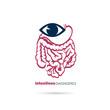 Постер, плакат: Intestines diagnostics symbol design vector illustration