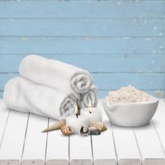 Spa Treatment. Bath salt