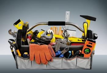 Toolbox. Toolbox, Construction, Home Improvement, Repair Tools