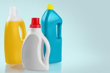 Laundry Detergent. Laundry detergent bottle (isolated)