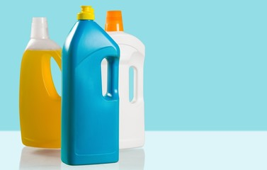 Laundry Detergent. Laundry detergent bottle (isolated)