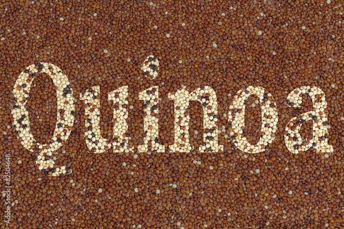Aluminium Granen Text Quinoa