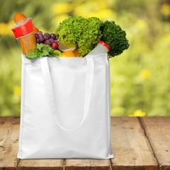 Bag. Bag of Groceries