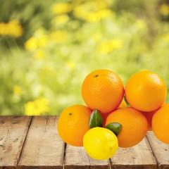 Orange. Oranges