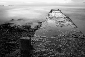 Timeless pier