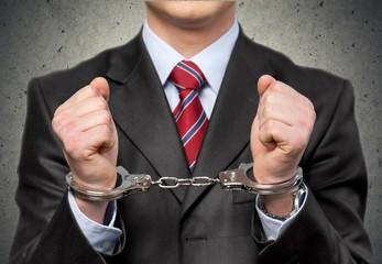 Handcuffs. Illegal
