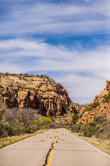 Road to Canyonlands National Park