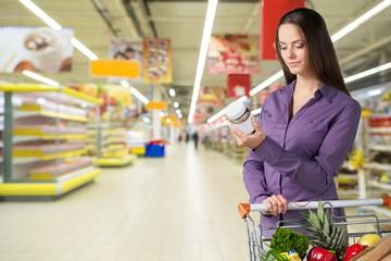 Supermarket. Supermarket - Nutritional Information