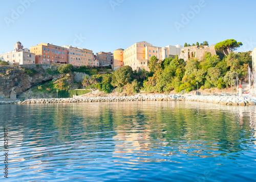 Corse bastia ville haute vue du port de p che photo - Office du tourisme bastia haute corse ...