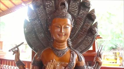 Buddhist goddess statue in Thailand