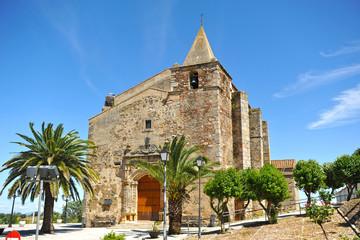 Iglesia de San Andrés, Aljucén, Badajoz, España