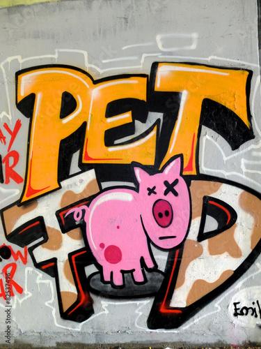 fototapeta na ścianę Graffiti