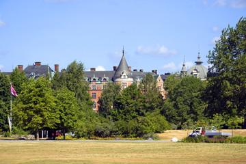 Стокгольм. Общие виды города.