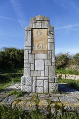 Stone tribute to Navarra brigades in the civil war Llanes
