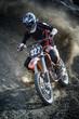 Fototapeta Motocyklista - Motocykl terenowy -