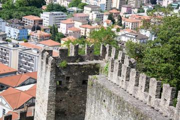 Bellinzona, castello Montebello
