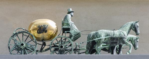 Kopenhagen - Kutscherskulptur