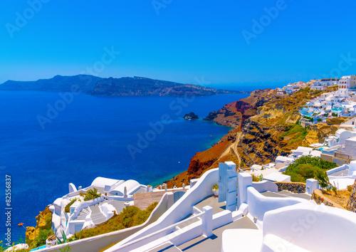 in Oia the most beautiful village of Santorini island in Greece © imagIN photography