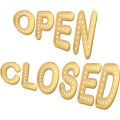 open e closed