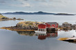 Newfoundland fishing shacks NL Atlantic Canada