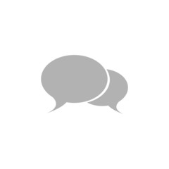 A simple chat window icon.