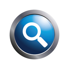 Blue button - Search icon.