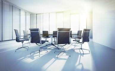 Meeting Room im Sonnenlicht