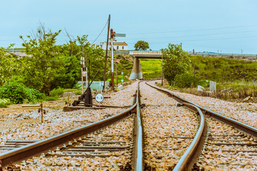 Cerco industrial de Peñarroya-Pueblonuevo VIII, vías férreas