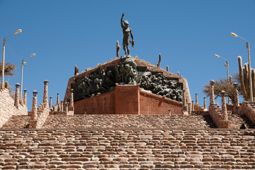 The Monument to the Heroes of Independence - Humahuaca