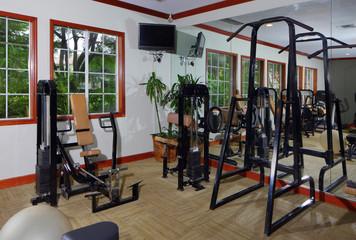 Community fitness center gym