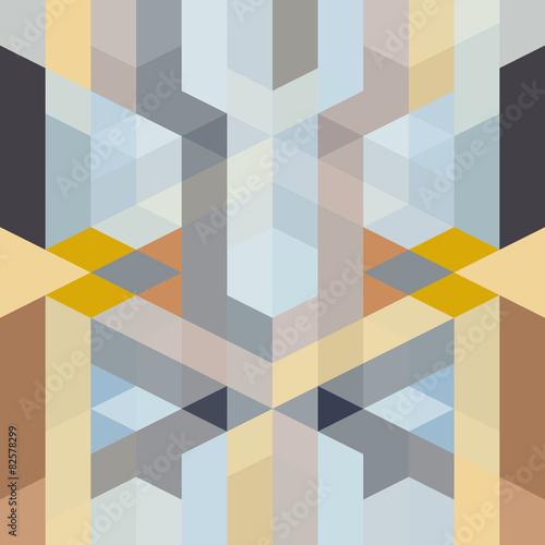 Fototapeta abstract retro art deco geometric pattern