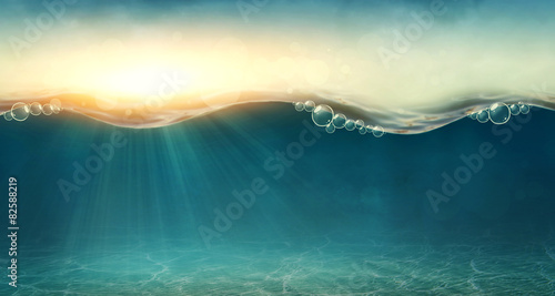 Abstract underwater background - 82588219