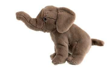 Children's plush elephant