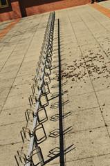 Fahrradständer leer