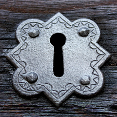 Keyhole in Gothic style