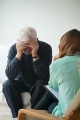 Psychological help for pensioner