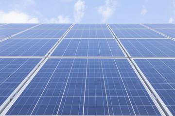 Solar Panels Against Sky