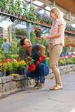 Beratung bei Florist im Einzelhandel